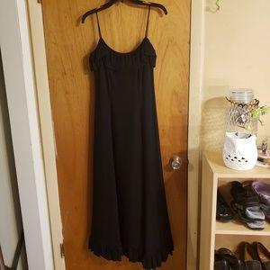 Vintage Ann fogarty black evening dress